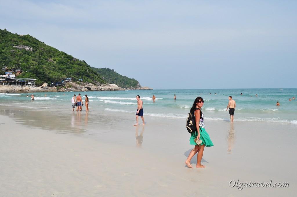 Haad Rin beach 8
