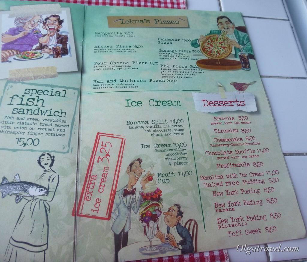 Lokma menu 2