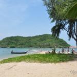 Пляж Mae Haad (Мае Хад) и островок Koh Ma, Панган