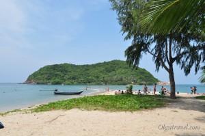 Пляж Mae Haad и островок Koh Ma