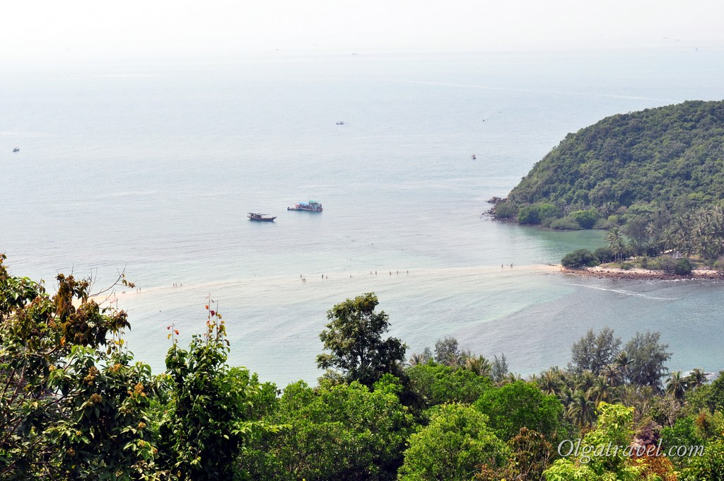 Переход с пляжа Мае Хад на остров Ко Ма