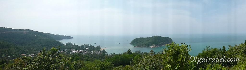 Панорамный вид на остров Ко Ма