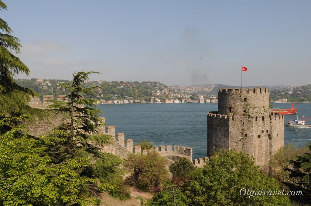 Виды на Босфор с крепости