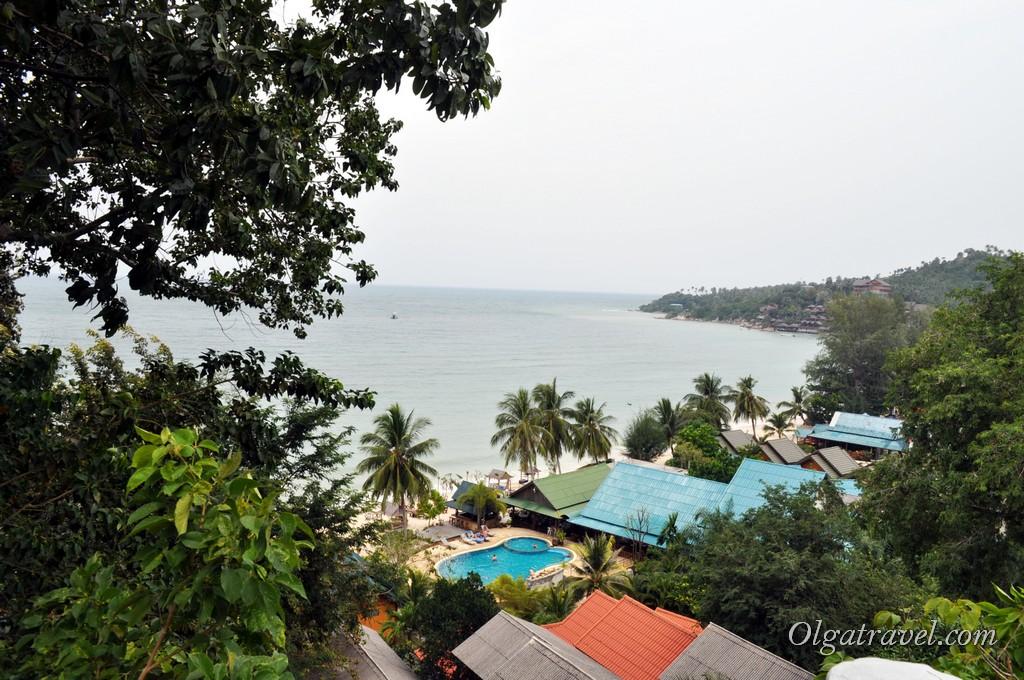 Вид на отель Sandy Bay Bungalows