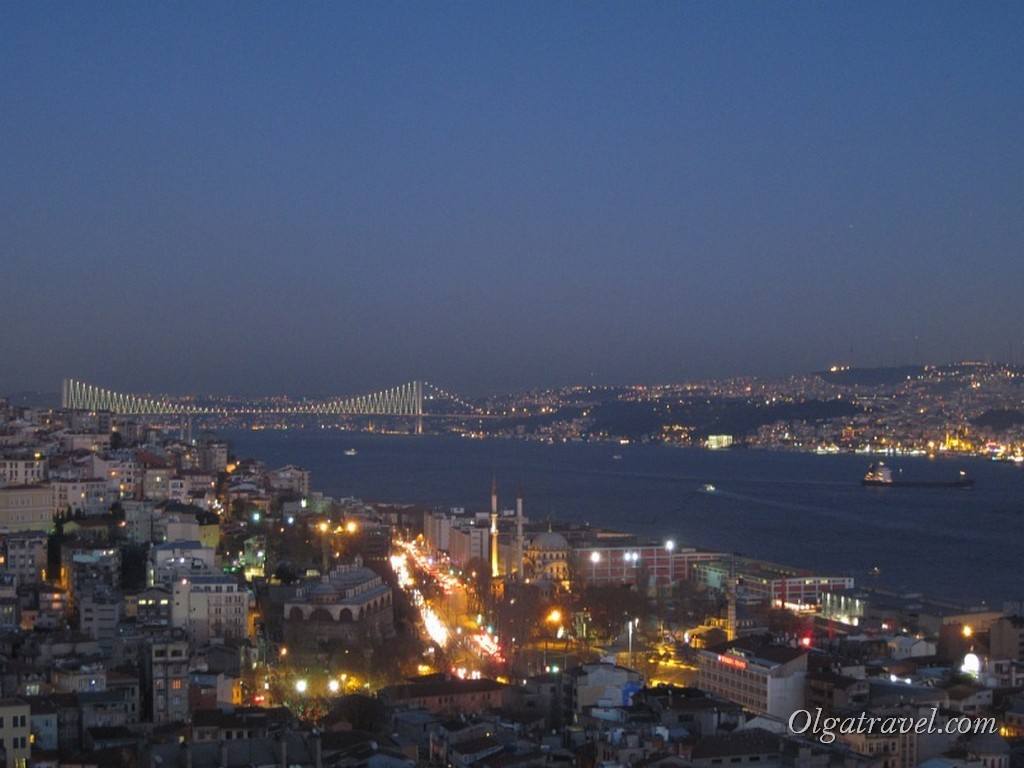 Galata Tower nigth 2