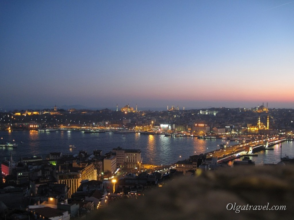 Galata Tower nigth