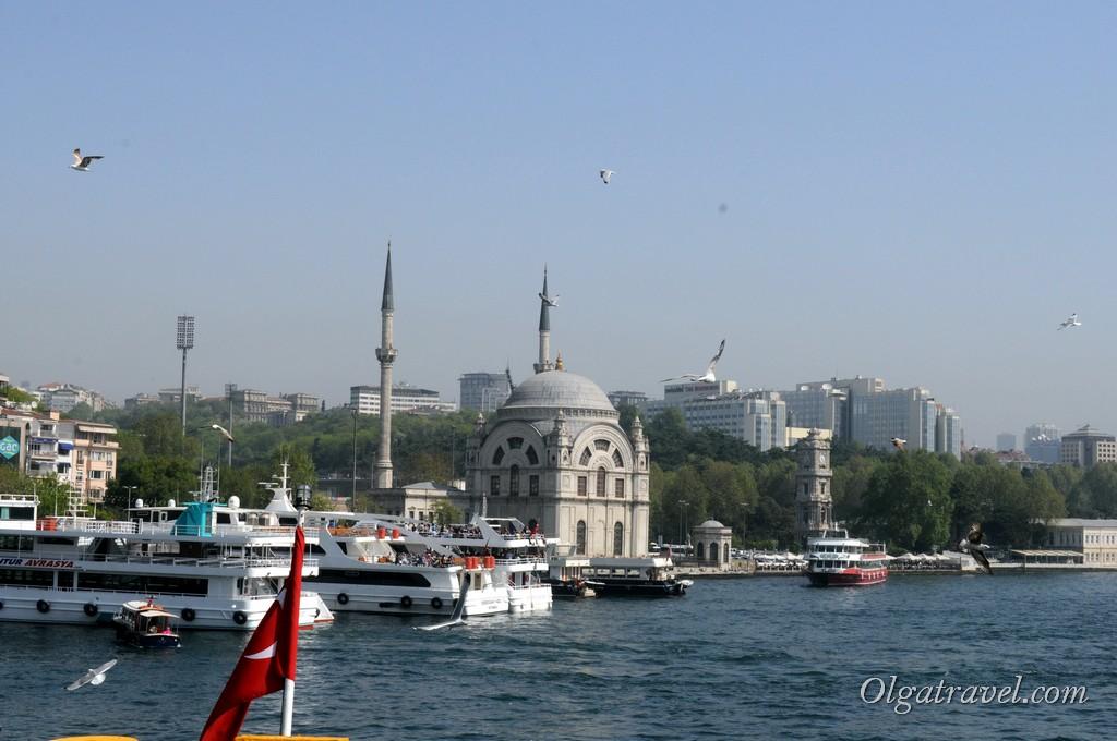 Отплываем от Стамбула