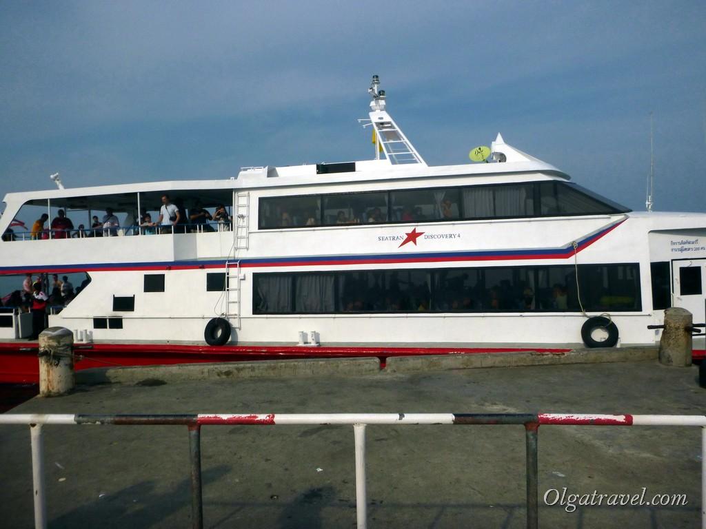 лодка Seatran Discovery