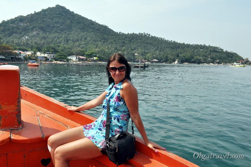 Boat to Koh Nangyuan 2