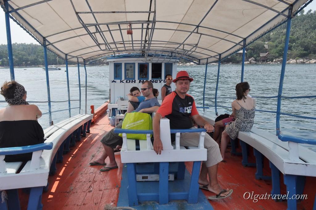 Boat to Koh Nangyuan 4
