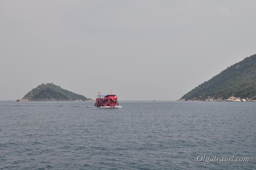 Boat to Koh Nangyuan 5