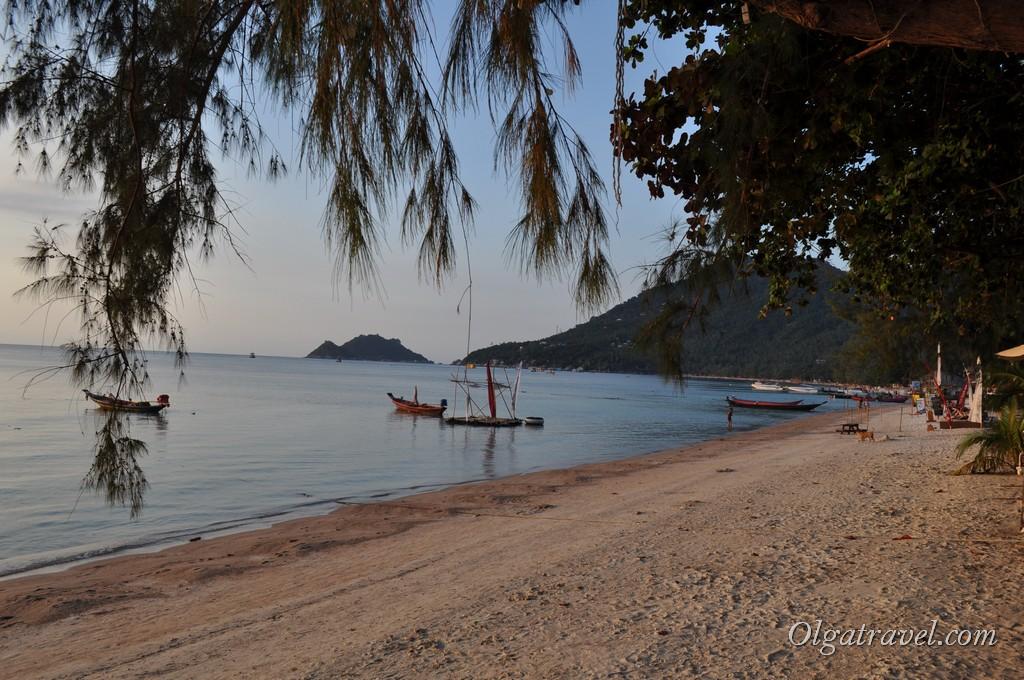 Пляж Сарри бич перед закатом