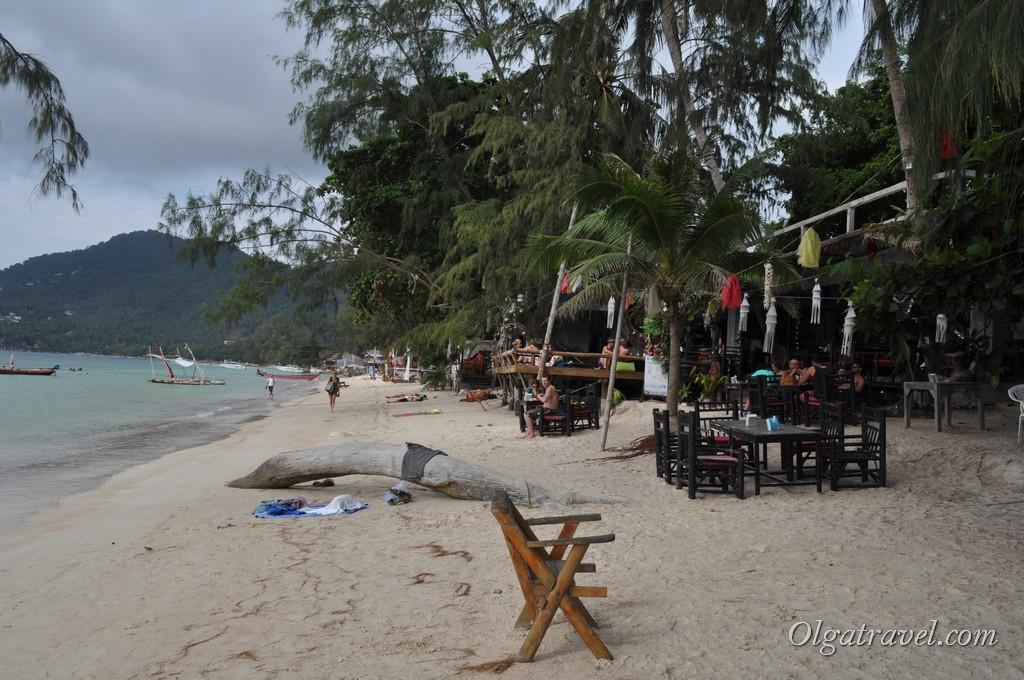 Пляж у отеля In Touch Resort