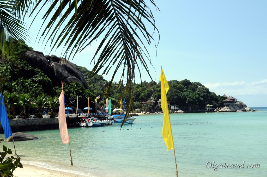 Koh Tao Resort beach 9