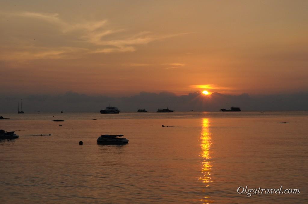 Koh Tao sunset 2