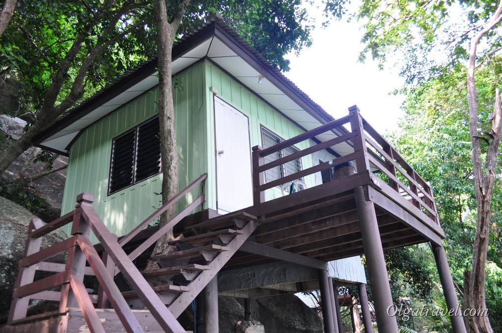 Наш домик в отеле Nangyan Dive Resort