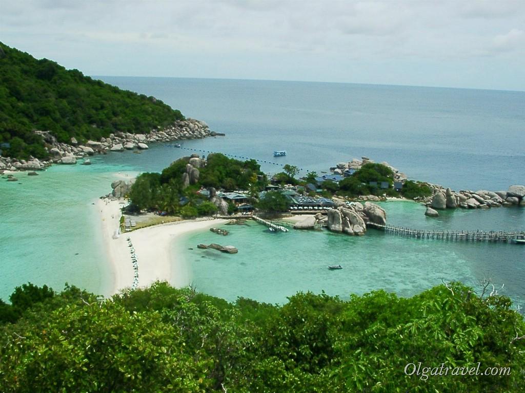 Остров Нанг Юань в 2005 году - где же люди?:))