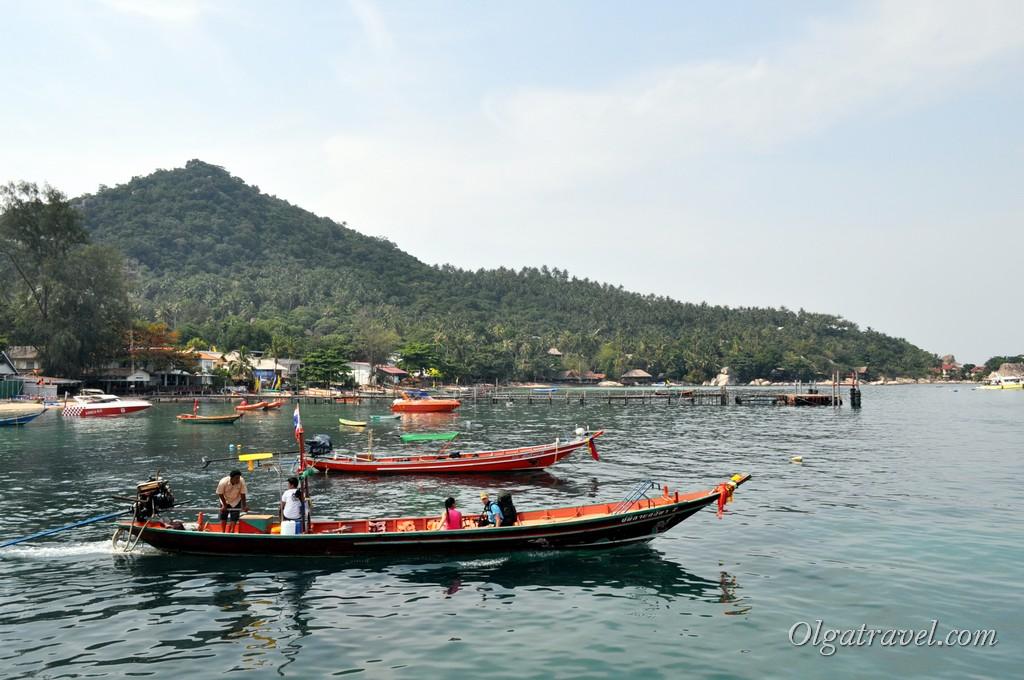 лодки Ко Тао