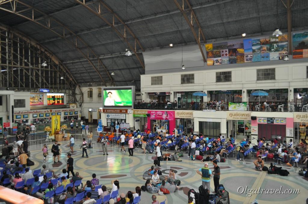 Железнодорожный вокзал в Чианг Мае