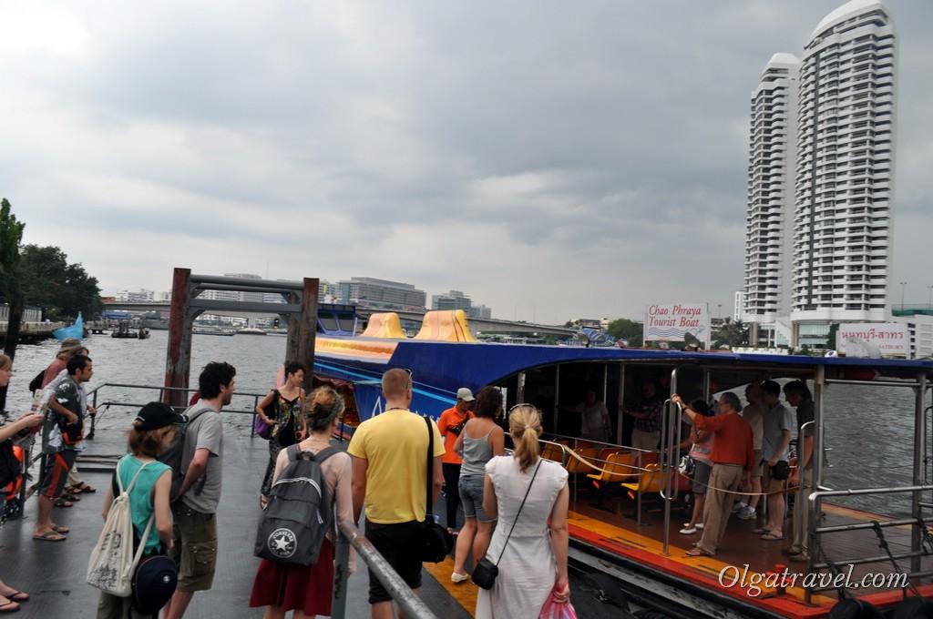 Речные трамвайчики в Бангкоке