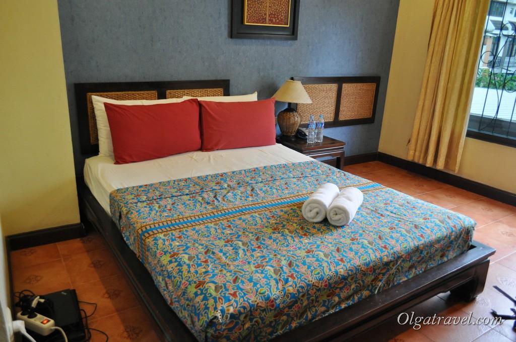 Просторный номер отеля Chiang Mai Thai House