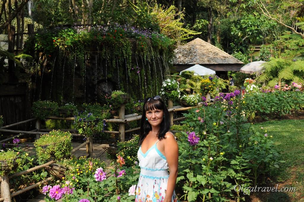 В Ботаническом саду возле королевской виллы