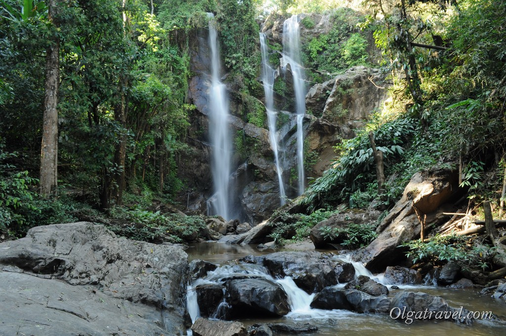 Красивейший водопад Mok Fa