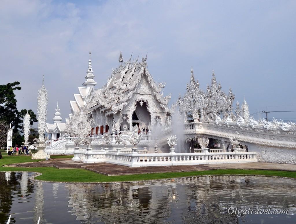 Белый храм Таиланд