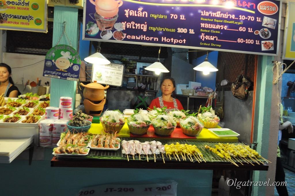 Чианг Рай ночной базар
