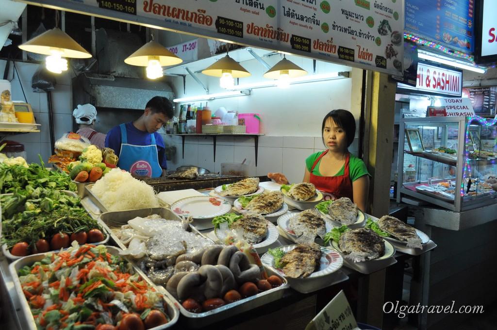 Чианг Рай ночной рынок