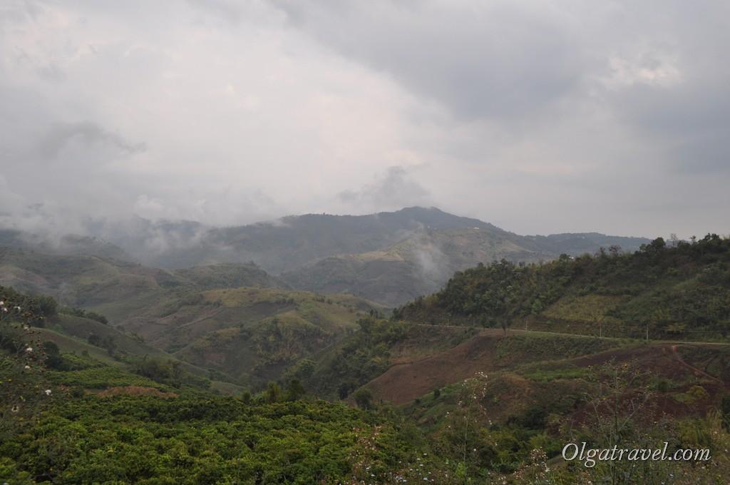 Прекрасные пейзажи возле Мае Салонг