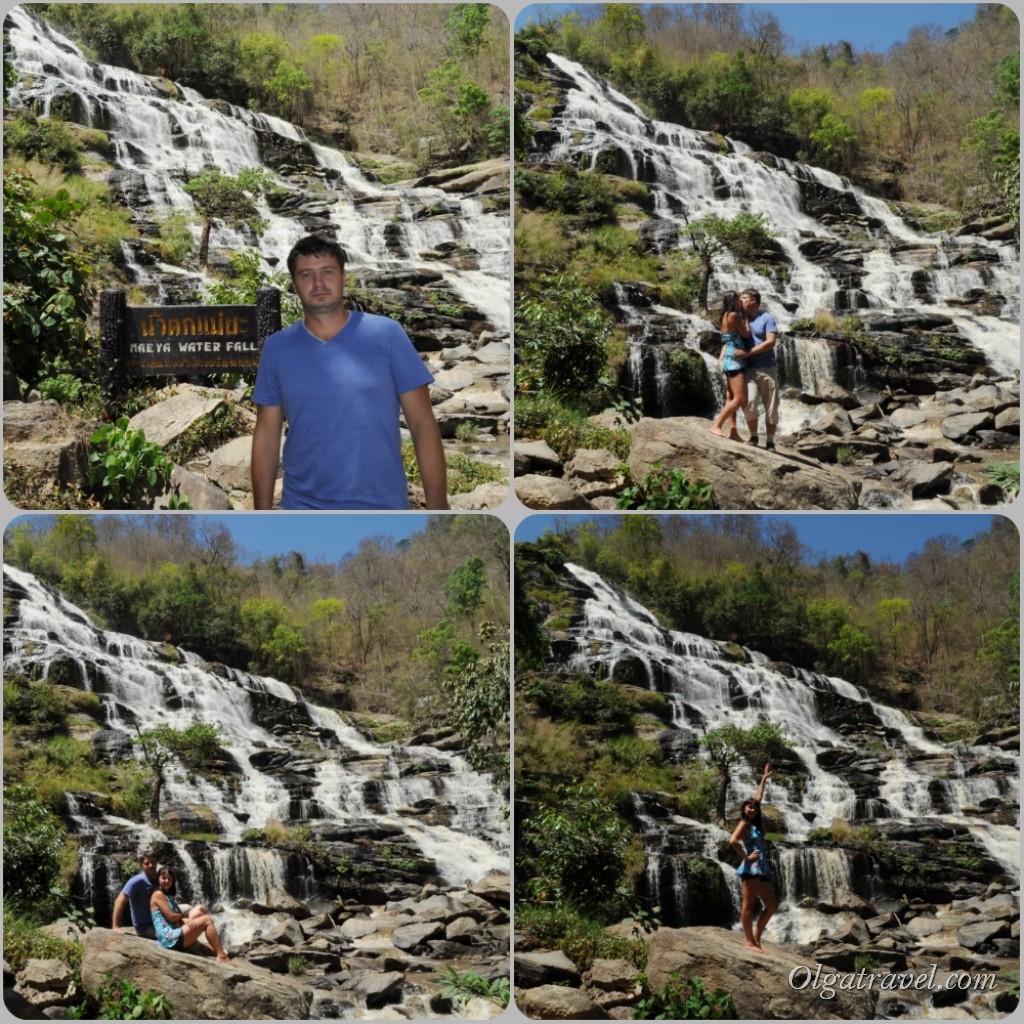 May Ya Waterfall - самый высокий водопад Таиланда