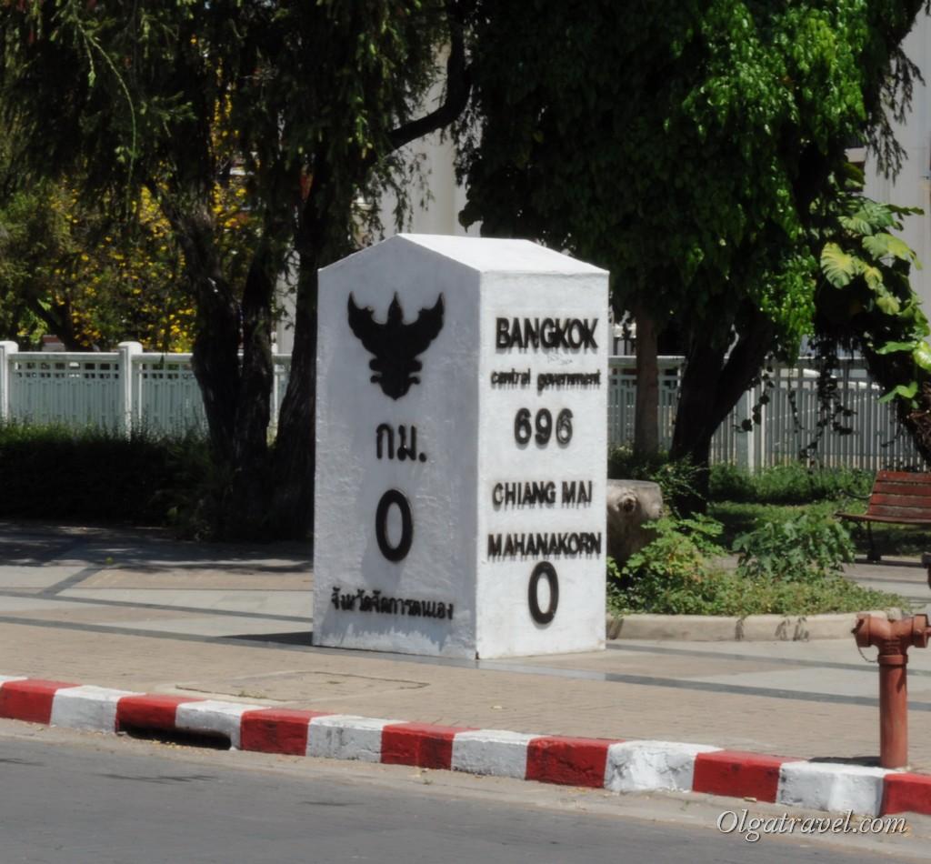 Расстояние от Бангкока до Чианг Мая