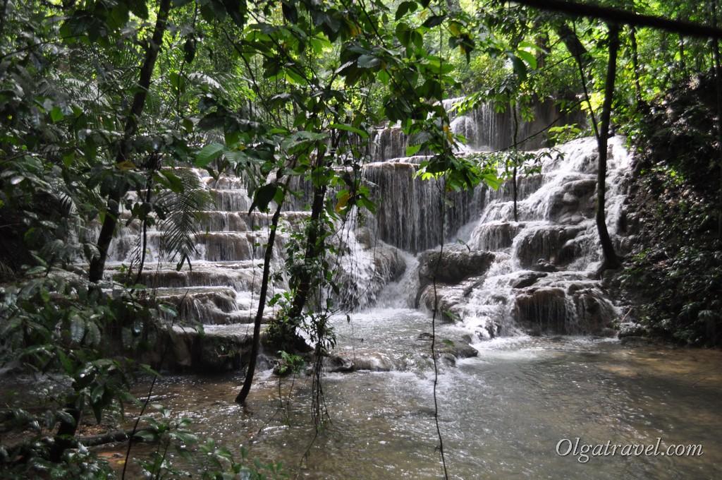 Водопад Паленке