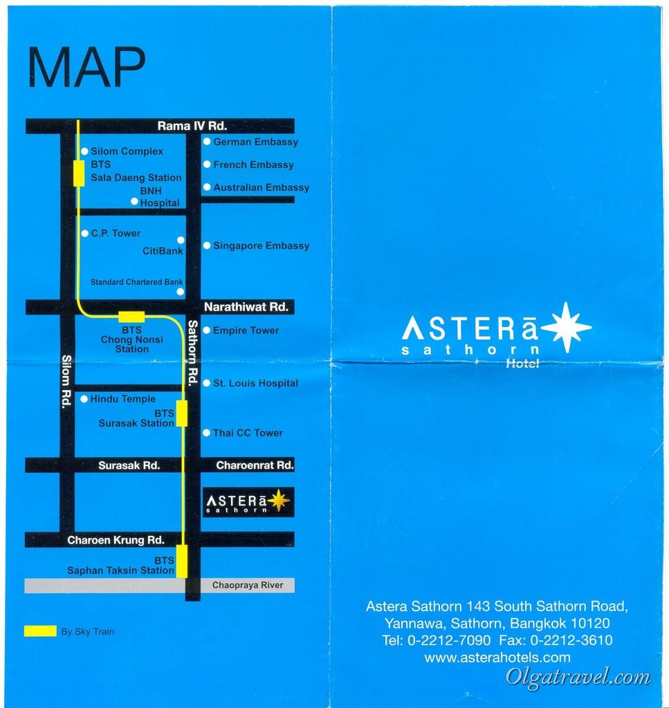 Asrera_Hotel_Bangkok_map