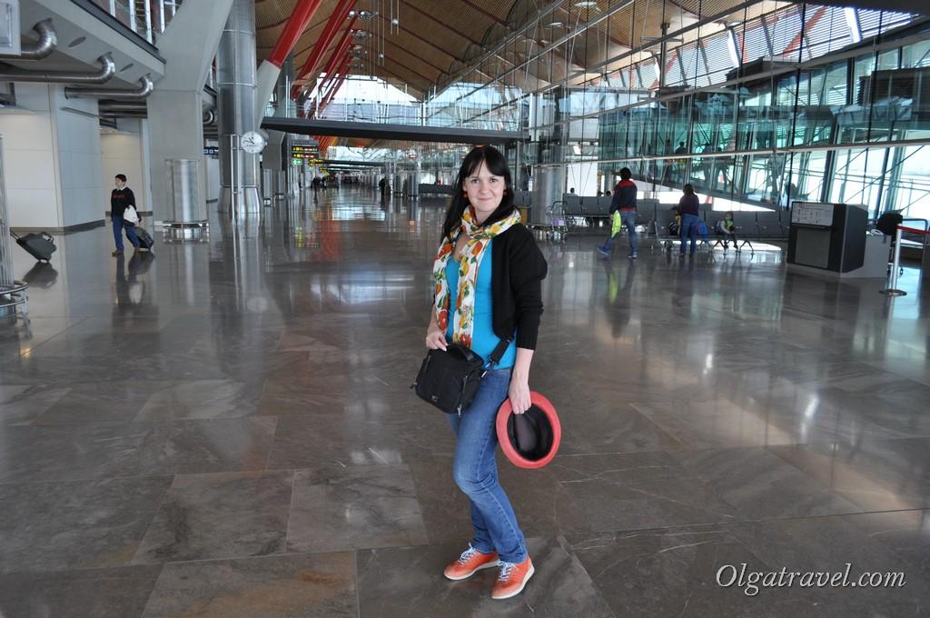 В транзитной зоне МАдрида, терминал 4S