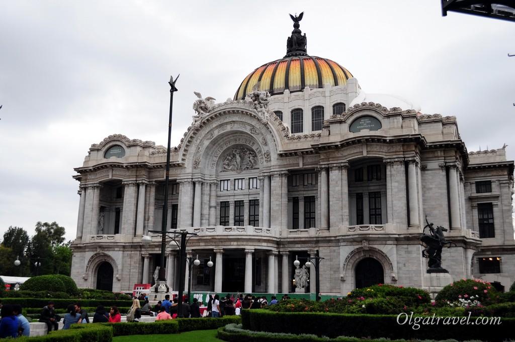 Дворец изящных искусств Мехико
