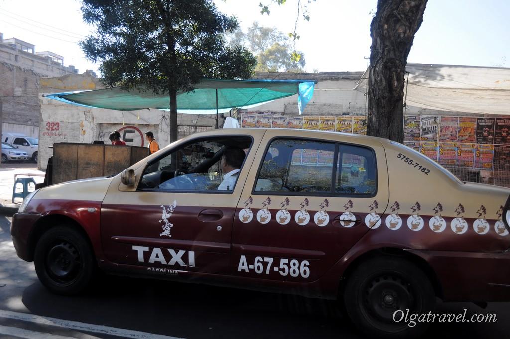 Мехико такси