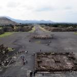 Мексика: древний город Теотиуакан возле Мехико сити, город, где люди становятся Богами