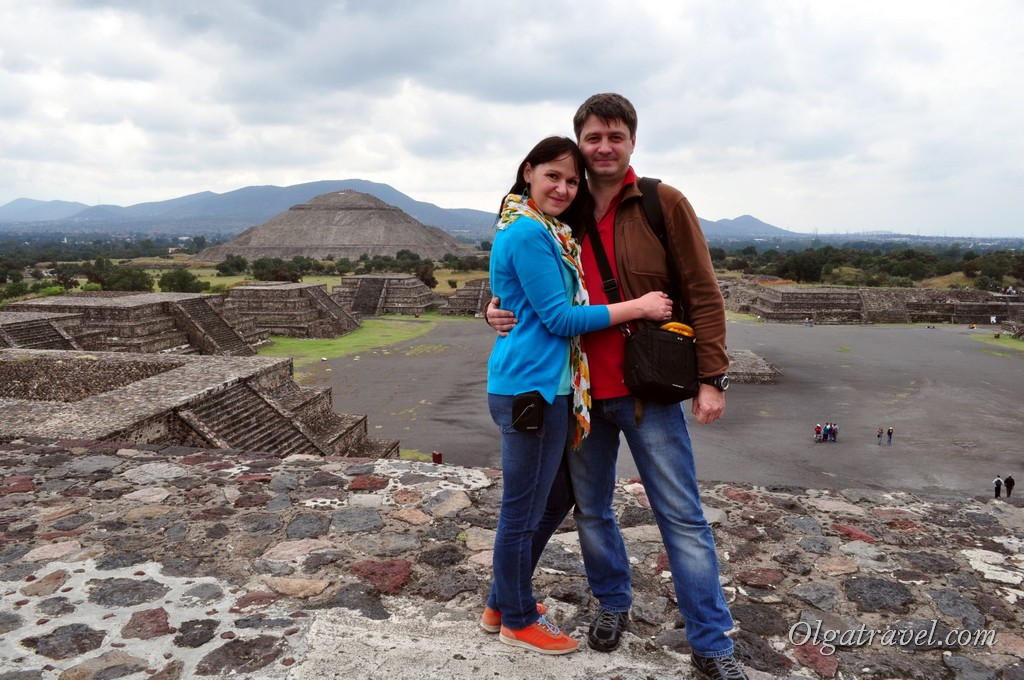 Мексика пирамиды