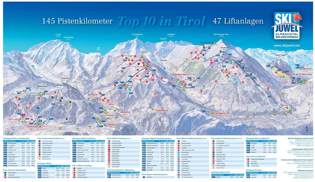 Ski_Jewel_Alpbachtal_Wildschonau_Piste_Map