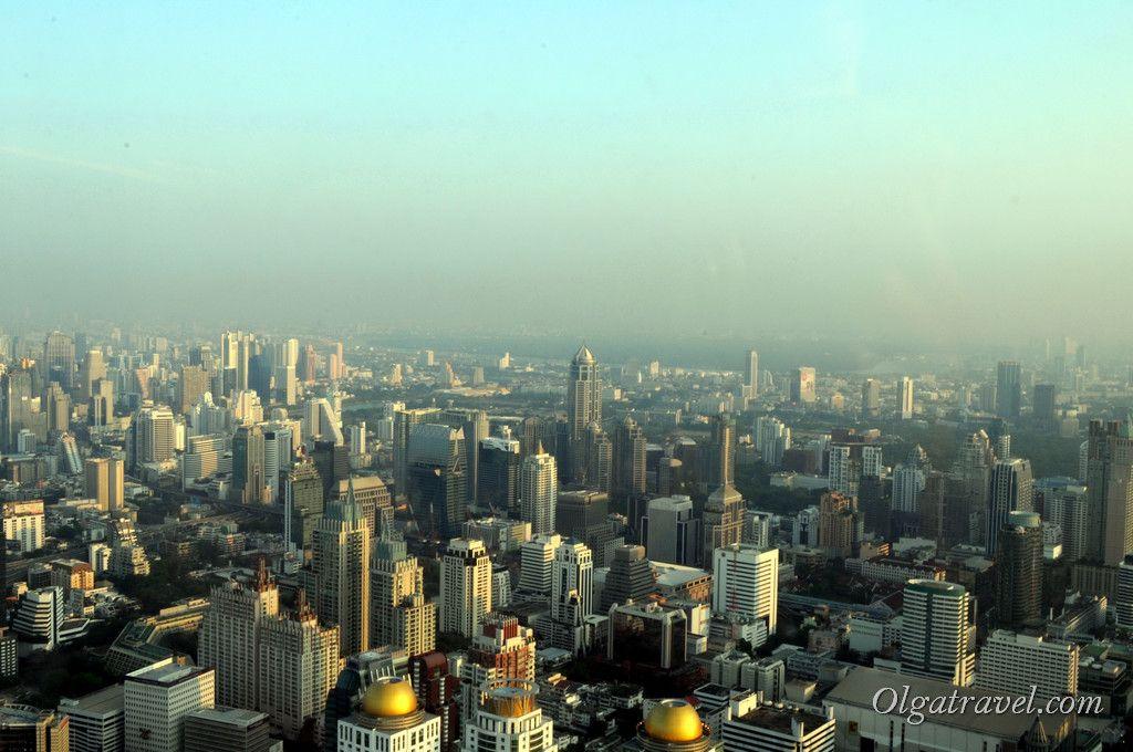 Вид на Бангкок с высоты 309 м