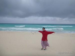 Наш Канкун в непогоду