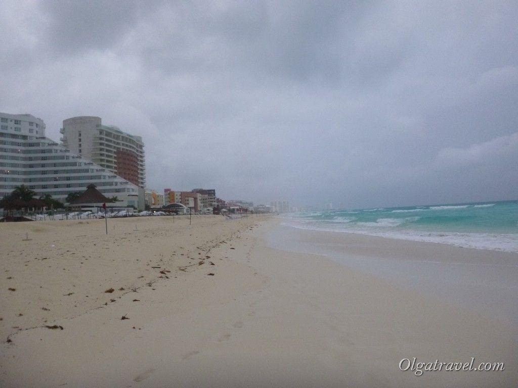 Пляж Канкуна 12 км