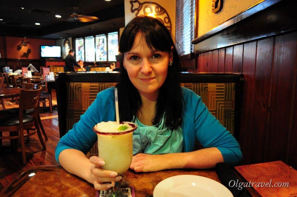 Мой первый коктейль Маргарита в Мексике:)