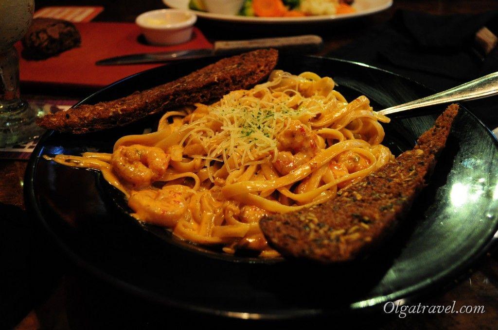 Очень вкусные спагетти с морепродуктами! До сих пор вспоминаю :)