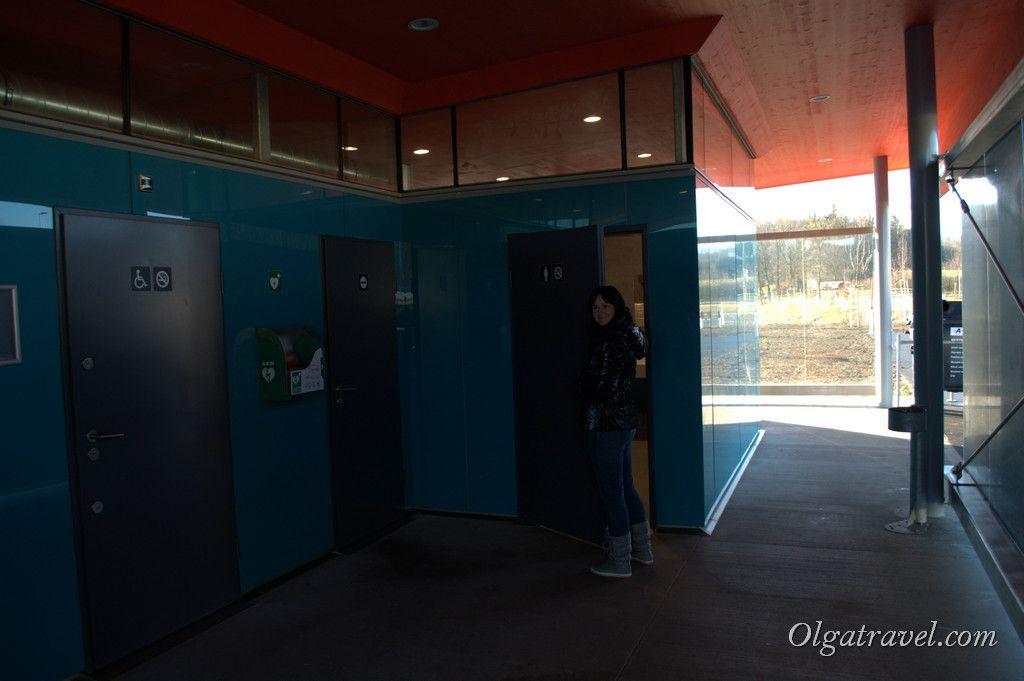 Туалет, очень чистый:)