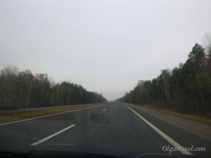 Дорога Минск - Брест