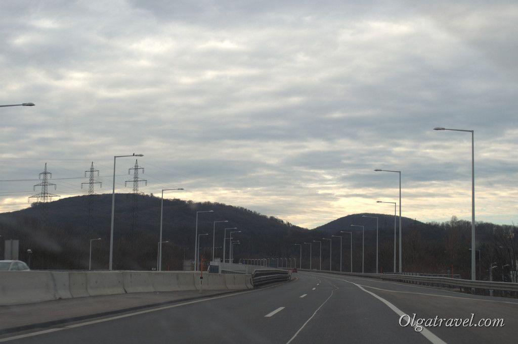 Дорога Вена - Зальцбург