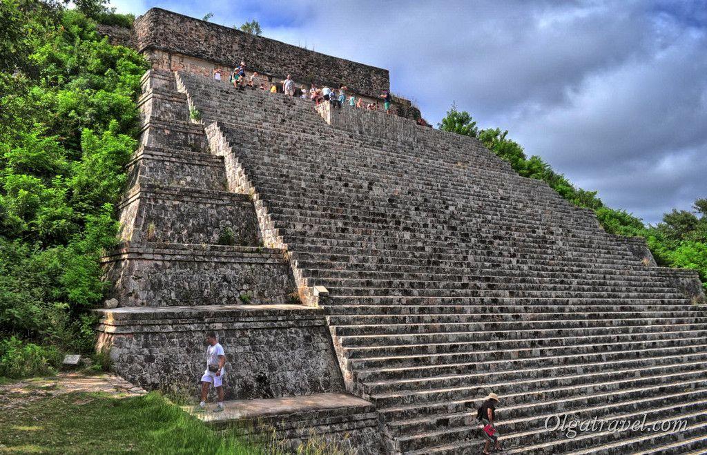 Большая Пирамида, Ушмаль